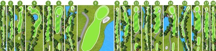 Forest Oaks Golf Club scorecard-1