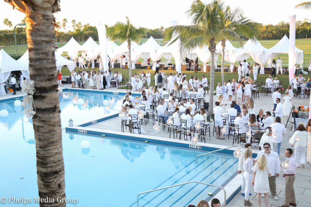 Brooke USA's Sunset Polo & White Party, Wanderers Club, Wellington, Florida