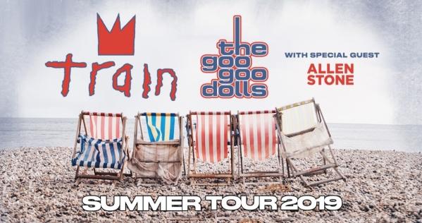 Train, Goo Goo Dolls, Coral Sky Amphitheatre, West Palm Beach (WPB), South Florida