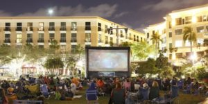 Screen on the Green, West Palm Beach (WPB), South Florida