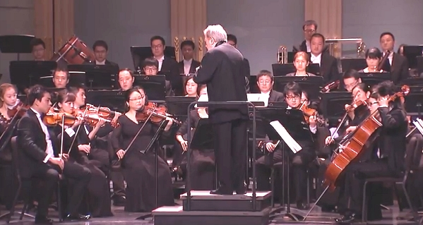 Shanghai Opera Symphony Orchestra at Kravis Center, West Palm Beach