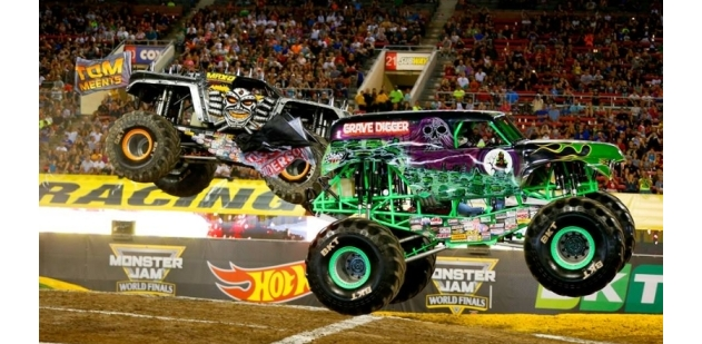 Monster Jam at Marlins Park, Miami Feb 22 & 23, 2020