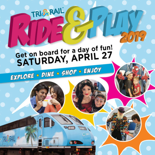 "Tri-Rail ""Ride & Play"" Day, South Florida"