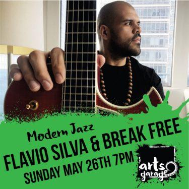 Flavio Silva and Break Free at Arts Garage, Delray Beach, South Florida