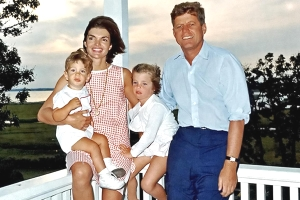 JFK and family