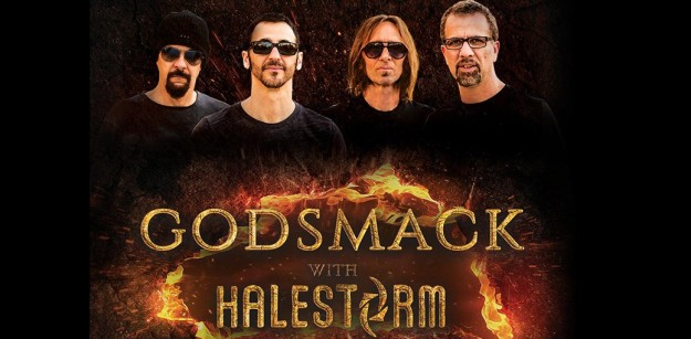 Godsmack at Coral Sky Amphitheatre, South Florida Fairgrounds, West Palm Beach (WPB), Oct 1. Buy Tickets Here