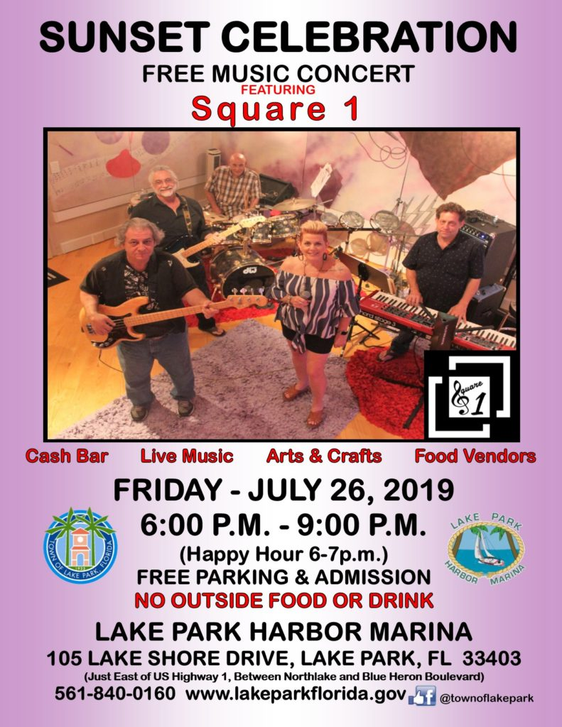 Sunset Celebration, Lake Park, July 26, 2019