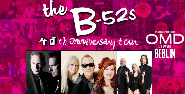 B-52s at Broward Center for the Performing Arts, Fort Lauderdale, South Florida, 8/29/19. Buy Tickets from WestPalmBeach.com