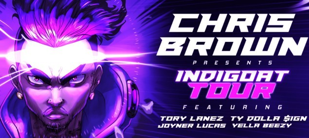 Chris Brown at BB&T Center, Sunrise, Fort Lauderdale, South Florida, 9/1/19. Buy Tickets from WestPalmBeach.com