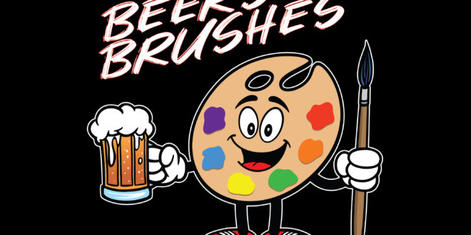 Beers & Brushes, Crazy Uncle Mike's in Boca Raton, South Florida