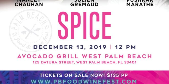 PBFWF Spice at Avocado Grill, Palm Beach Gardens, South Florida