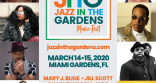 Jazz in the Gardens at Hard Rock Stadium, Miami Gardens Mar 14 & 15, 2020