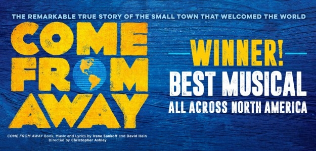 Come From Away Tickets! Broward Center, Fort Lauderdale, Florida Nov 3-14, 2021