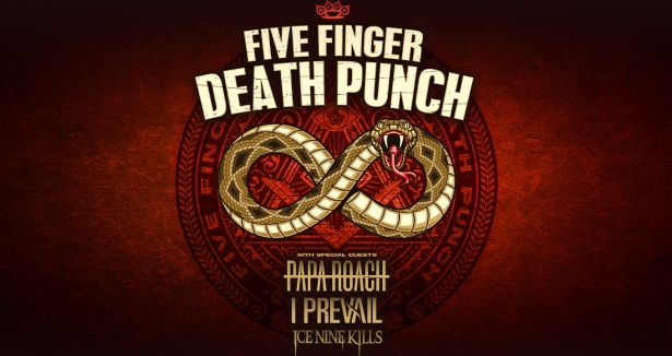 Five Finger Death Punch at BB&T Center, Sunrise, South Florida 4/8/20. Buy Tickets on WestPalmBeach.com