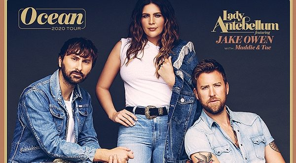 Lady Antebellum at Coral Sky Amphitheatre, West Palm Beach (WPB), South Florida 8/2/2020. Buy Tickets on WestPalmBeach.com
