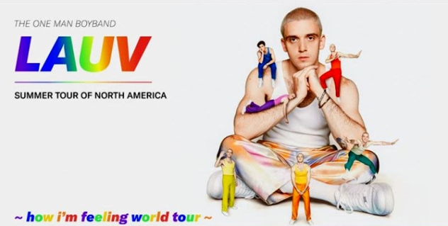 Lauv at FPL Solar Amphitheater, Bayfront Park, Miami, South Florida 8/11/20