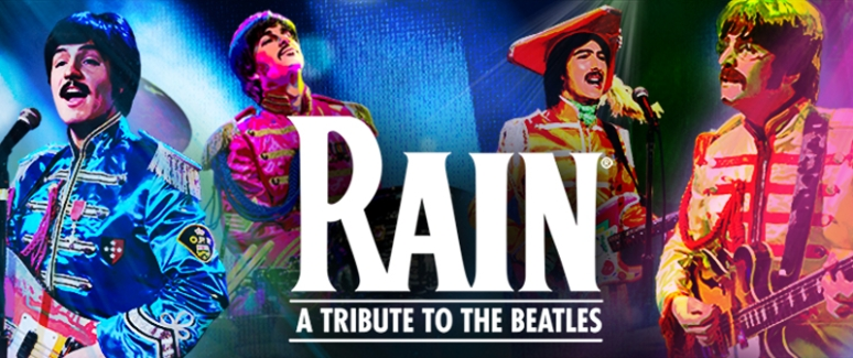 RAIN - A Tribute to the Beatles, Kravis Center, West Palm Beach, South Florida May 5, 2021. Buy Tickets on WestPalmBeach.com