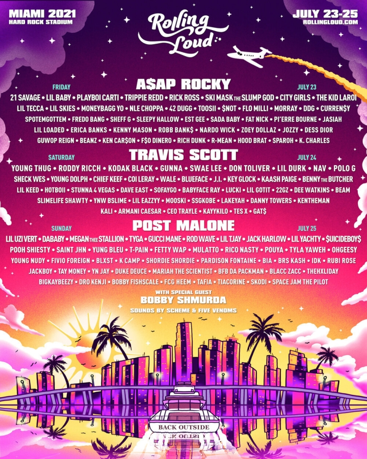Rolling Loud Miami 2021, Hard Rock Stadium, Miami Gardens, South Florida, Lineup & Tickets!