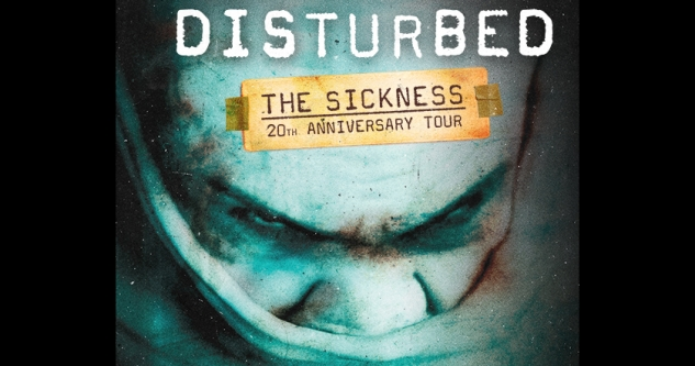 Disturbed at iTHINK Finanical Amphitheatre (formerly Coral Sky), West Palm Beach, S FL 7/24/20