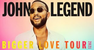 John Legend at BB&T Center, Sunrise, South Florida 8/17/21. Buy TICKETS on WestPalmBeach.com