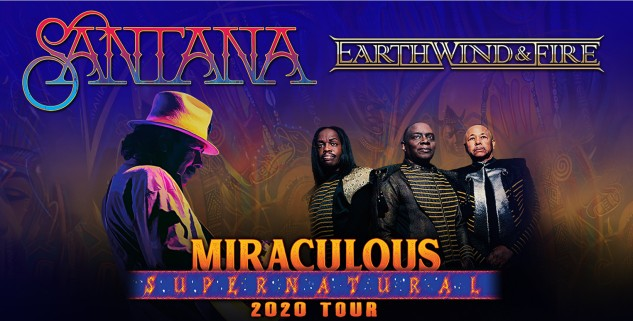 Santana and Earth, Wind & Fire at iTHINK Amphitheatre (formerly Coral Sky), West Palm Beach (WPB), 8/27/21. Buy Tickets on WestPalmBeach.com