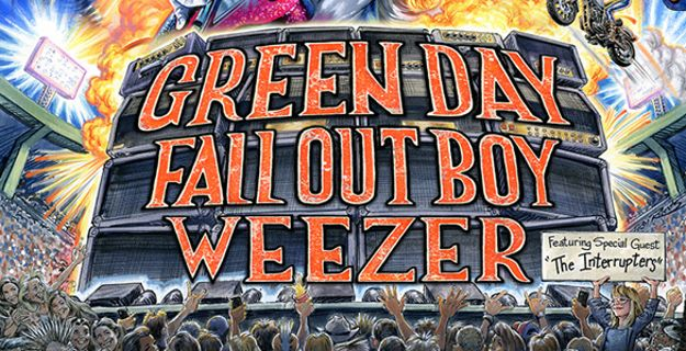Green Day, Fall Out Boy, Weezer at Hard Rock Stadium, Miami Gardens 8/1/21. Buy Tickets on WestPalmBeach.com