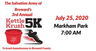 The Salvation Army of Broward County's Third Annual Kettle Krush 5K, Sunrise, South Florida
