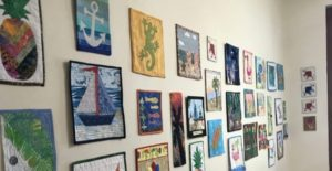 BQE & New River Artist Cooperative Free Mini-quilt Expo, Fort Lauderdale, S FL