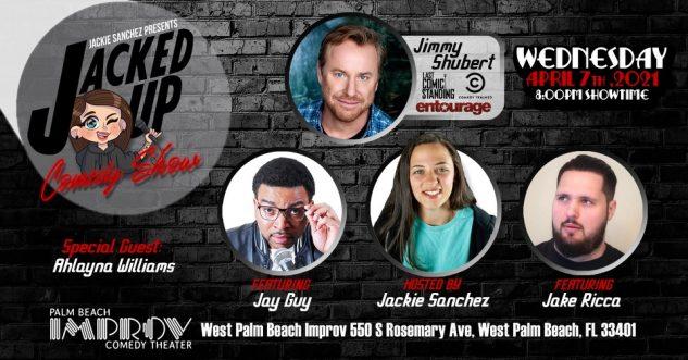 Jackie Sanchez presents: Jacked Up Comedy Show, Palm Beach Improve, West Palm Beach