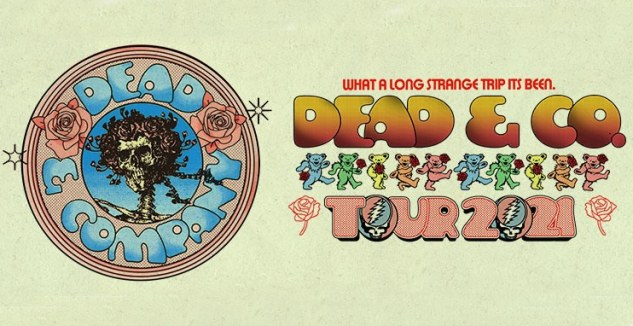 Dead and Company Tickets! iTHINK Financial Amphitheatre, West Palm Beach 10/6/21