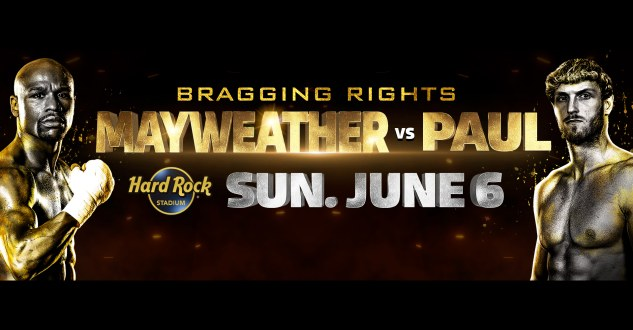 Mayweather vs Paul Tickets! Hard Rock Stadium, Miami Gardens, S FL 6/6/21