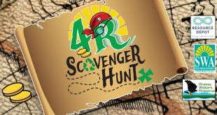 SWA 4R Scavenger Hunt July 2021. A family-friendly outdoor scavenger hunt on the SWA Greenway Trail System and around Palm Beach County.