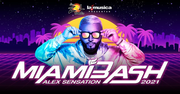 MiamiBash Tickets 2021! Alex Sensation's Miami Bash, FTX Arena 12/17/21