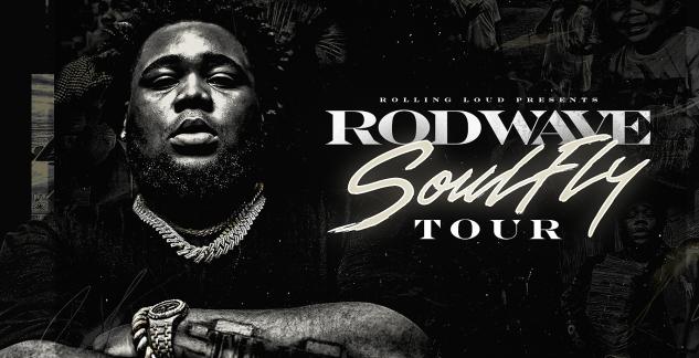 Rod Wave Concert Tickets! iTHINK Financial Amphitheatre, West Palm Beach, S FL 9/10/21