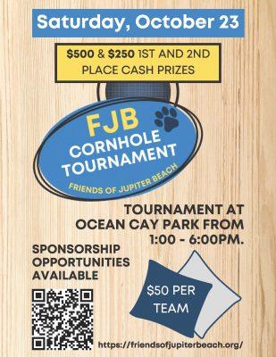 1st Annual Friends of Jupiter Beach Cornhole Tournament