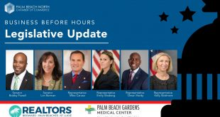 Palm Beach North Chamber of Commerce for our Business Before Hours:Legislative Update