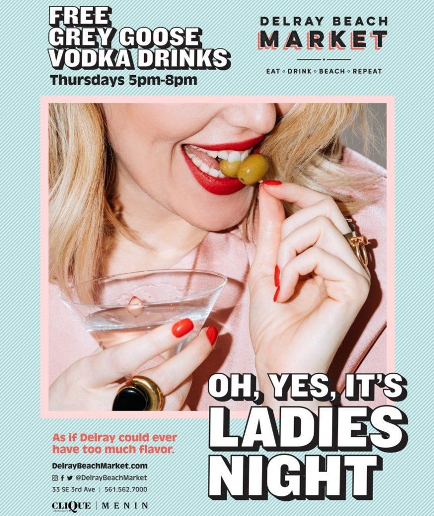 Ladies Night at Delray Beach Market