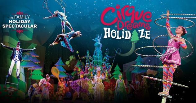 Cirque Dreams Holidaze Show Tickets! Kravis Center, West Palm Beach, South FL, Nov 26-28, 2021